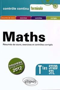 Claudine Cherruau et Guilhemine Gottis - Mathématiques Tles STI2D STL - Programme 2012.