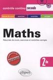 Claudine Cherruau et Guy Le Provost - Maths 2de Nouveau programme - Contrôle continu.
