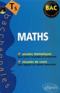 Claudine Cherruau et Guilhemine Gottis - Maths Tle S.
