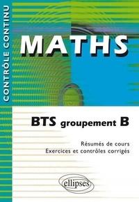 Claudine Cherruau et François Cherruau - Maths - BTS groupement B.