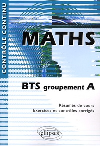 Maths- BTS groupement A - Claudine Cherruau |
