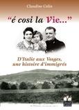 Claudine Colin - E cosi la Vie....