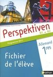 Claudine Decocqman et Séverine Le Bourg - Allemand 1e Perspektiven B1/B2 - Programme 2011.