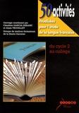 Claudine Garcia-Debanc et Alain Trouillet - 50 activités ritualisées pour l'étude de la langue française - Du cycle 2 au collège.