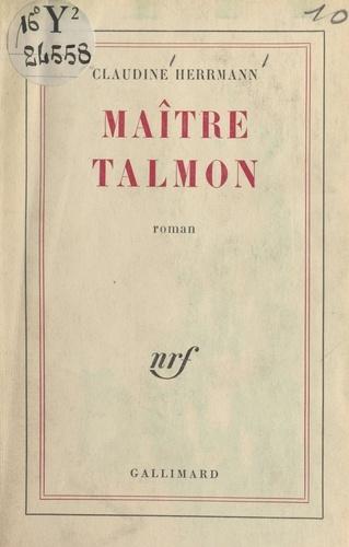 Maître Talmon