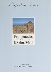 Claudine Legardinier et Isabelle Calabre - Promenades littéraires à Saint-Malo.