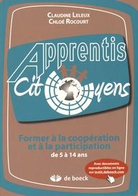 Claudine Leleux et Chloé Rocourt - Former à la coopération et à la participation de 5 à 14 ans.