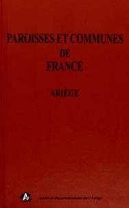 Claudine Pailhès - Paroisses et communes de France - Ariège.