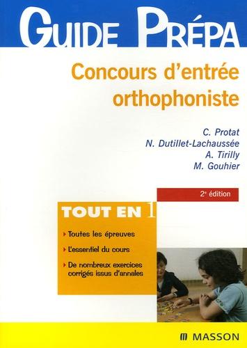 Claudine Protat et Nelly Dutillet-Lachaussée - Concours d'entrée Orthophoniste.