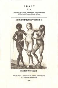 Claudine Raynaud - Voix éthniques, ethnic voices. Volume 2.