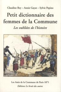 Histoiresdenlire.be Petit dictionnaire des femmes de la Commune de Paris 1871 - Les oubliées de l'histoire Image