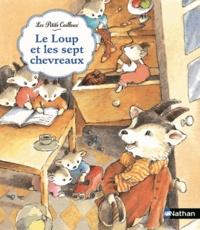 Claudine Routiaux - Le loup et les septs chevreaux.