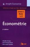 Claudio Araujo et Jean-François Brun - Econométrie.