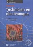 Claudio Cimelli et Roger Bourgeron - Guide du technicien en électronique - Maîtriser l'analyse et la conception. 1 Cédérom