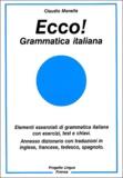 Claudio Manella - Ecco ! - Grammatica italiana.