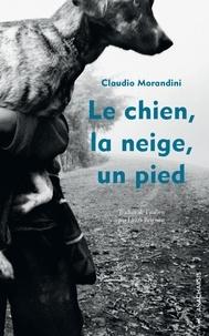 Claudio Morandini - Le chien, la neige, un pied.