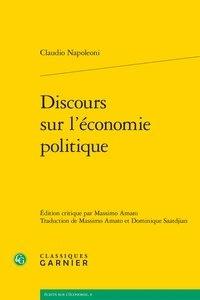 Claudio Napoleoni - Discours sur l'économie politique.