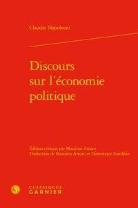 Discours sur l'économie politique - Claudio Napoleoni pdf epub