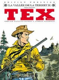 Claudio Nizzi et  Magnus - Tex spécial Tome 9 : La vallée de la terreur.