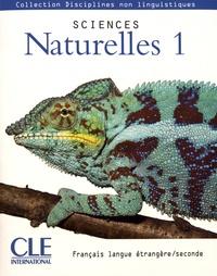 CLE international - Sciences Naturelles 1.