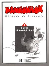 Clélia Paccagnino et Marie-Laure Poletti - Kangourou - Tome 1, Guide pédagogique.