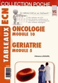 Clémence Legoupil - Oncologie Module 10, Gériatrie Module 5.