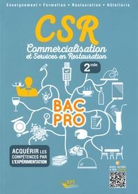Clémence Nadiras et Isabelle Boussange - CSR commercialisation et service en restauration 2de.