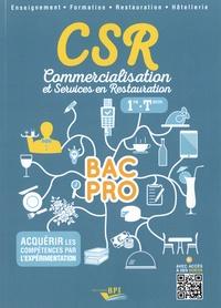 Clémence Nadiras et Isabelle Boussange - CSR, Commercialisation et Services en Restauration Bac Pro 1re Term.