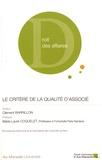 Clément Barrillon - Le critère de la qualité d'associé.