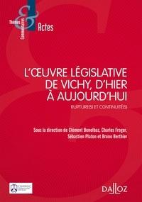Loeuvre législative de Vichy, dhier à aujourdhui - Rupture(s) et continuité(s).pdf