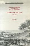 Clément de La Jonquière et Georges Rigault - L'expédition d'Egypte (1798-1801) - Tome 6.