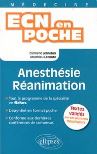 Anesthésie - Réanimation.pdf