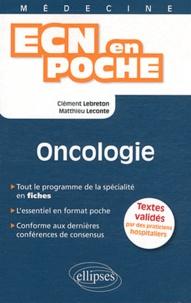 Clément Lebreton et Matthieu Leconte - Oncologie.
