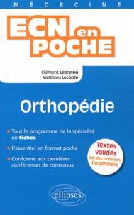 Clément Lebreton et Matthieu Leconte - Orthopédie.