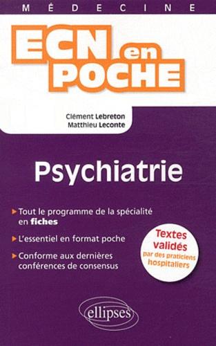 Clément Lebreton et Matthieu Leconte - Psychiatrie.