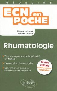 Clément Lebreton et Matthieu Leconte - Rhumatologie.