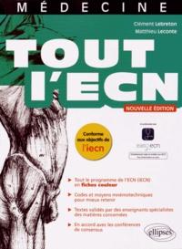 Clément Lebreton et Matthieu Leconte - Tout l'ECN.