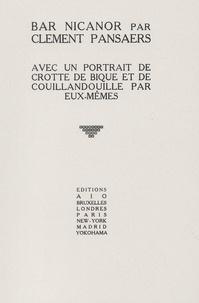 Clément Pansaers - .