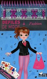 Clémentine Derodit - Fashion - 21 modèles, + de 200 autocollants.