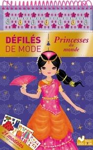 Clémentine Dérodit - Princesses du monde - 21 modèles, + de 180 autocollants.