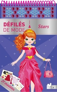 Clémentine Derodit - Stars - 21 modèles et plus de 250 autocollants.