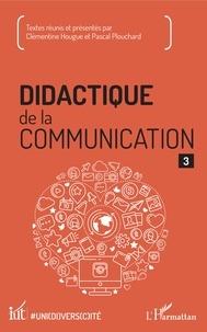 Deedr.fr Didactique de la communication - Volume 3 Image