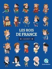 Clémentine V. Baron - Les rois de France - Carnet.