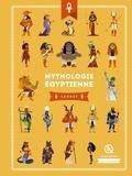 Clémentine V. Baron et Bruno Wennagel - Mythologie les dieux égyptiens - Isis et Osiris - Horus - Anubis - Sekhmet.
