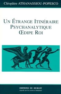 Deedr.fr Un étrange itinéraire psychanalytique Oedipe Roi Image