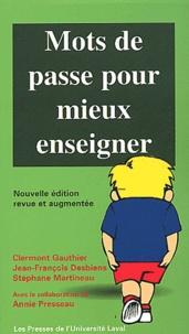 Clermont Gauthier - Mots de passe pour mieux enseigner.