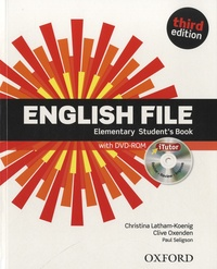 Clive Oxenden - English File Elementary Student's Book. 1 DVD
