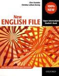 Clive Oxenden et Christina Latham-Koenig - New English File - Upper-Intermediate Student's Book.