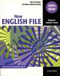 Clive Oxenden et Christina Latham-Koenig - New English File - Beginner Student's Book.