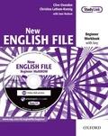 Clive Oxenden et Christina Latham-Koenig - New English File - Beginner Workbook with key. 1 Cédérom